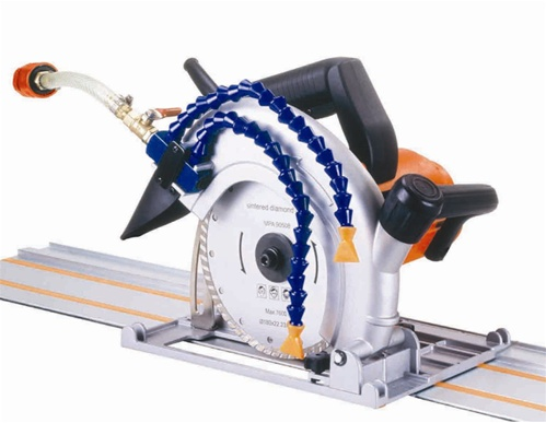 Rotoblast S7 7 Quot Wet Track Saw Rail Saw For Granite