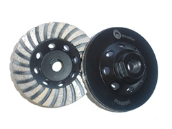 "4"" CUP WHEEL"